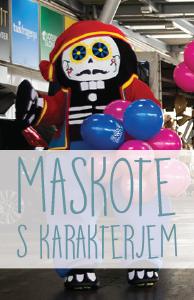 Maskote banner