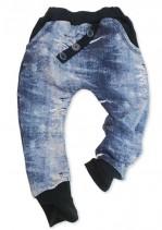 Hlače Big Mike - Navy Jeans