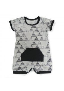 01 - Trikotniki / temno siva