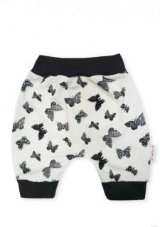 Aladinke pod koleni, motiv metuljčki