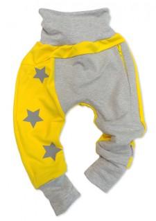 Aladinke z zadrgo in z zvezdicami - rumene (spredaj)
