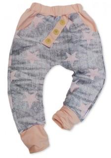 Hlače LiLu - Pink Stars