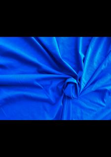 Bombažni jersey - živo modra
