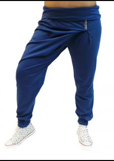 Hlače METULJČEK - jeans modre