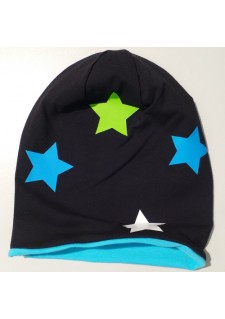 zvezdice notri turkizno modra