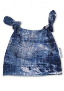 Kapica z vozlički - Jeans