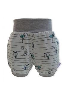 Kratke hlače, mint, bež, miške, flamingo, lisičke, 15