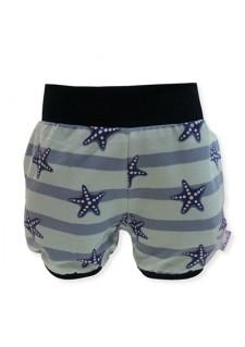 Kratke hlače, modre, morske zvezdice, 01