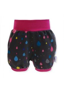 Kratke hlače, roza, pisane kapljice, 13