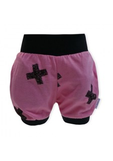 Kratke hlače, roza, krizci, 17