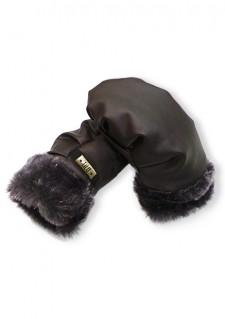 *LiLu* rokavice, Dark Brown