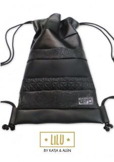 * LiLu * nahrbtnik, All Black #2