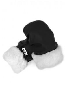 *LiLu* rokavice, črna/bela