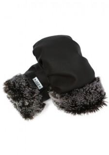 *LiLu* rokavice, črna/siva