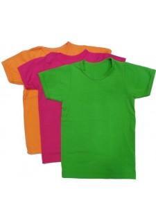 Majice različnih barv - kratek rokav