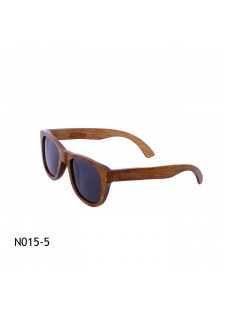 rjava lesena očala