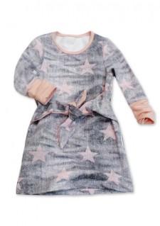 Obleka / tunika Pink Stars