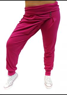 živo roza hlače