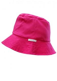 Poletni klobuček - ciklama