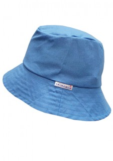 Poletni klobuček - pastelno moder