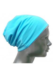 Kapica škratek - turkiz modra