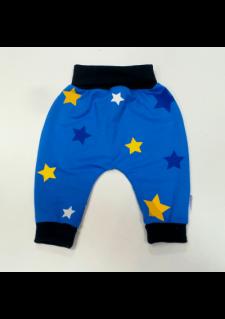 živo modre aladinke z modro/rumenimi zvezdicami