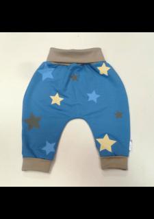 sv. modre aladinke z bež/modrimi in sivimi zvezdicami