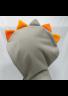 sivo-oranžna irokeza
