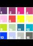 Velik izbor barv